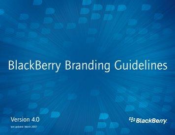 BlackBerry Branding Guidelines - Smashing Magazine