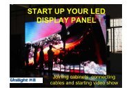 START UP YOUR LED DISPLAY PANEL - Instructables