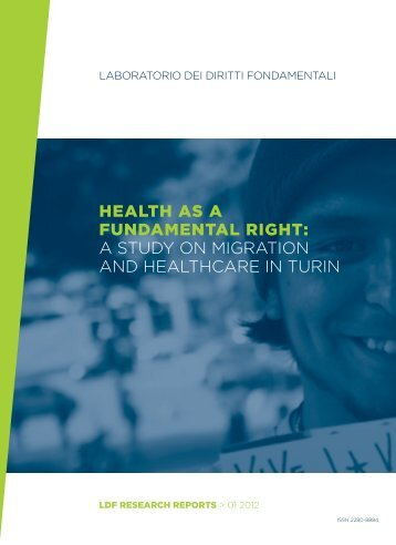 HEALTH AS A FUNDAMENTAL RIGHT: A ... - Council of Europe