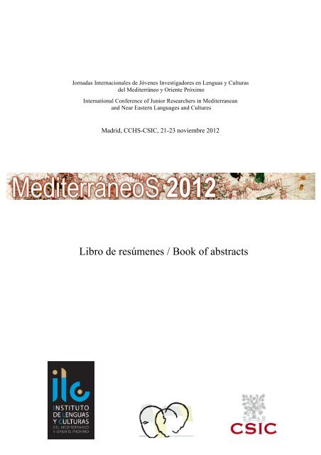 Libro de resúmenes / Book of abstracts