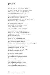 20 Beloit Poetry Journal Fall 2010 KIRuN KAPuR Melon Cleaver ...
