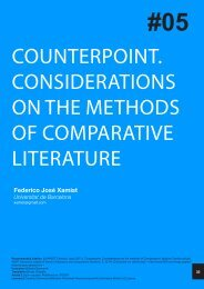 counterpoint. considerations on the methods of comparative ... - 452ºF