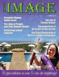 Download Full Magazine in PDF - Jewish Image Magazine