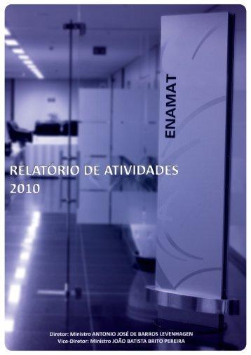 RELATÓRIO DE ATIVIDADES - Enamat