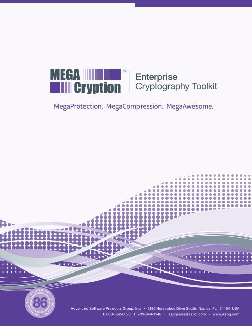Enterprise Cryptography Toolkit - Advanced Software Products