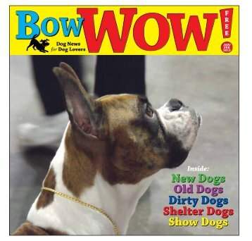 January/February 2013 - Bow-Wow! Dog News for Dog Lovers