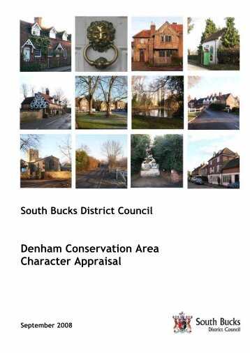 Denham Conservation Area Character Appraisal September 2008 in