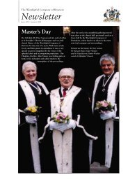 The Worshipful Company Of Bowyers Newsletter