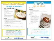 Girl Scout Cookies Recipe Cards
