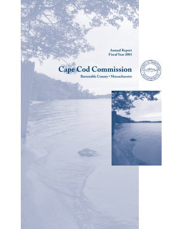 Fiscal Year 2003 - Cape Cod Commission