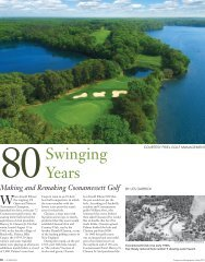 80 swinging.indd - Cape Cod Country Club
