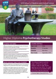 Higher Diploma Psychotherapy Studies