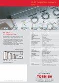 Prospekt T 500/501 E - Toshiba - Page 2