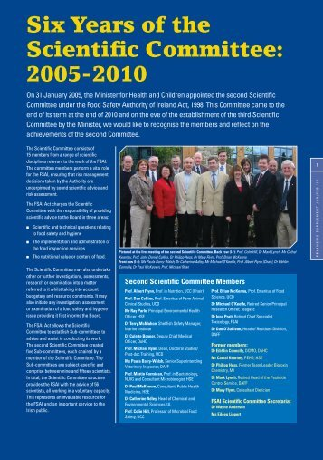 FSAI News Jan-Feb '11 + supp_FA.indd - The Food Safety Authority ...