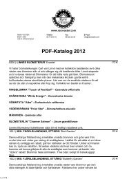 PDF-Katalog 2012 - Rara Växter