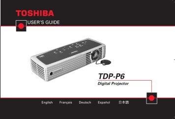 TDP-P6 Digital Projector - Aboutprojectors.com