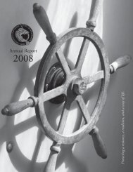 Annual Report - Cape Cod Commercial Hook Fishermen's Association