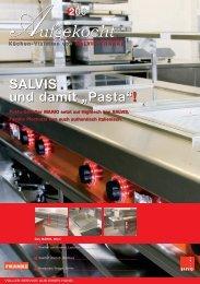 SALVIS und damit .;pasta.! - FHE Franke