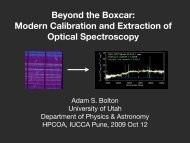 Beyond the Boxcar: Modern Calibration and Extraction of Optical ...