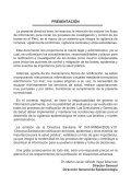 D.S Nº047 MINSA/DGE V.01- Notificación de Brotes, Epidemias. - Page 6