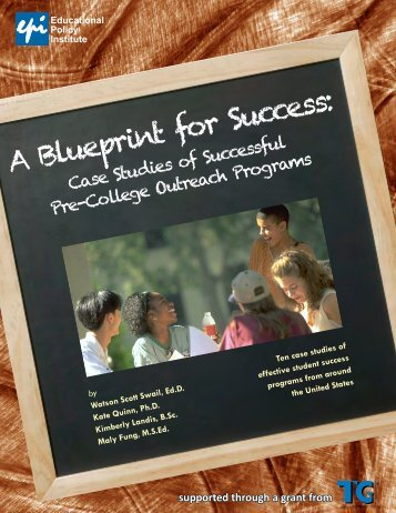 A BluePrint for Success: Case Studies of Successful - Educational ...
