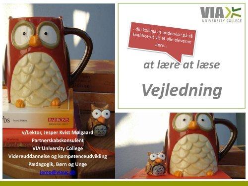Vejledning - University College Sjælland