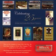 Celebrating 25 Years: Antique and Classic Boat ... - Breen Boats.com
