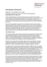 ABISAG TÜLLMANN 1935–1996. Photojournalistic Work and ...