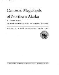 of Northern Alaska - Alaska Division of Geological & Geophysical ...