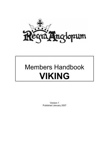 Vikings - Regia Anglorum