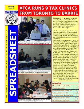 AFCA NL Spring-2007 - Association of Filipino Canadian Accountants