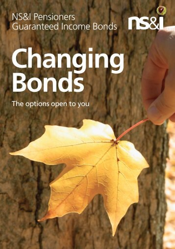 Changing Bonds - National Savings and Investments