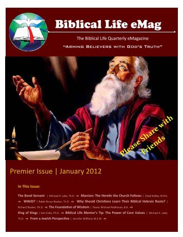 Biblical Life eMag - Biblical Life College & Seminary