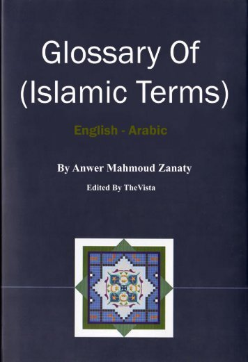 glossary of islamic terms.pdf - YasSarNal QuR'aN