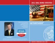 2011 BAIL BOND STATUTES - State of Oklahoma Web Site