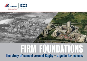 15378 Cemex history booklet - CEMEX communities