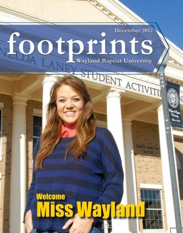 Winter 2012 - Wayland Baptist University Alumni Association