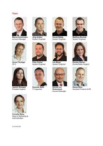 Unsere Mitarbeitenden - TurnKey Services AG
