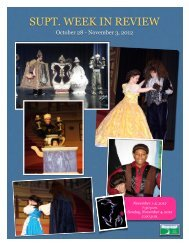 October 28 - Nov 3, 2012 - Waynesboro Public Schools