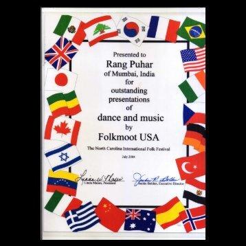 Certificate - Rangpuhar