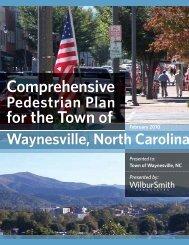 town of waynesville pedestrian plan - E-Gov Link