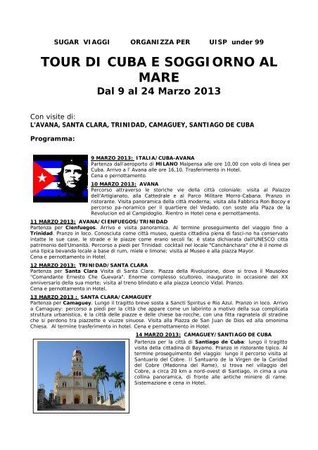 TOUR DI CUBA E SOGGIORNO AL MARE - Uisp