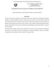 Arqueología del comercio en el puerto de La - Cuba Arqueológica