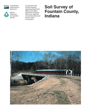 Soil Survey of Fountain County, Indiana - Soil Data Mart - US ...
