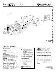 Long Lake Spring Park Mound Wayzata Orono ... - Metro Transit