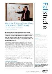 Interaktive Schul- und Unterrichts- materialien für SMART Boards