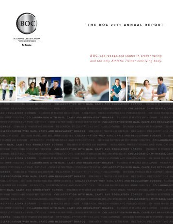 THE BOC 2011 ANNUAL REPORT