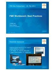 FME Workbench - Tydac AG