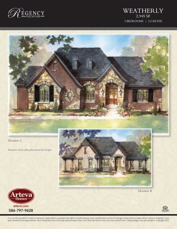 WEATHERLY - Arteva Homes
