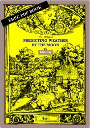 Predicting Weather By The Moon - Xavier University Libraries
